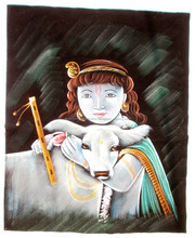 INDIAN HANDICRAFT BATIK PAINTINGS & Poster