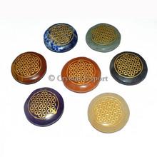 Flower of life Chakra Disc Set - flower of life pendant