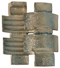 "Dixon SGS150 1-1/2""Plated Iron Strap-Grip Saddles"