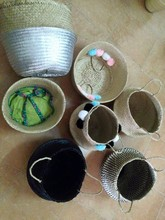 Seagrass Collapsible Baskets / Viet Nam Rice Baskets