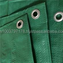 Protective Cover Tarpaulin Tarp Dark Green Color 2 x 3 m