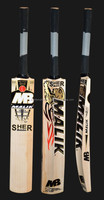 MB SHER AMIN english willow bats WITH 3 GRIPS 3 PRACTICE BALL