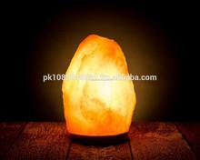 naturale himalayano rock lampada di sale