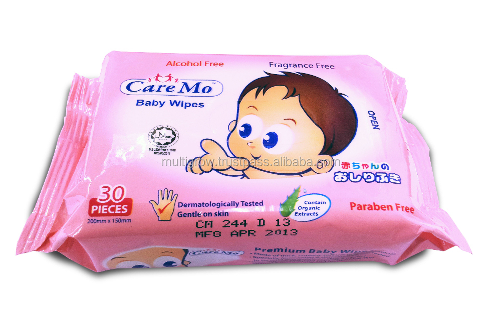 Alcohol free wipes baby