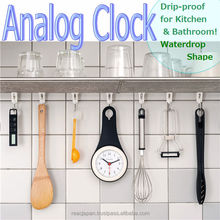 Wall clocks wholesale of Analog clock Life water proof for bathroom and kitchen