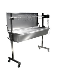 Stainless steel large pig spit roaster