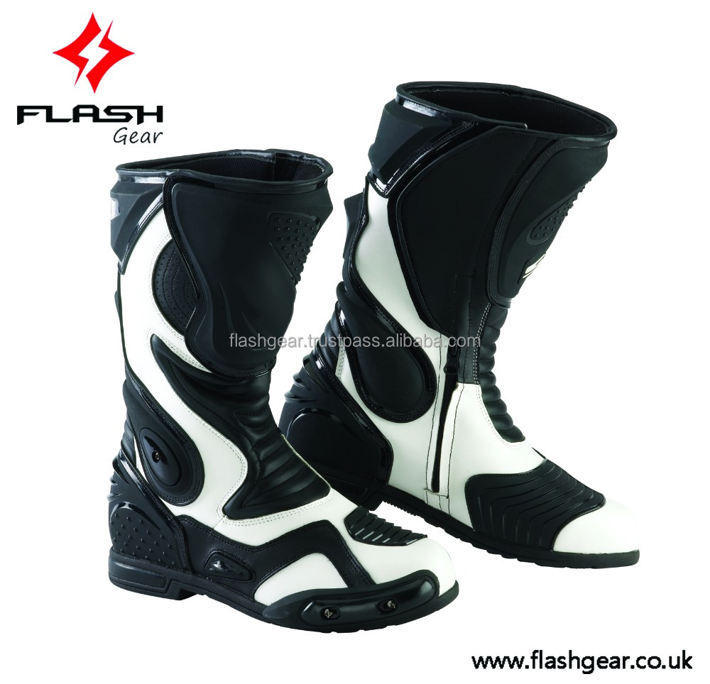 motocross pvc boot professional race tpu boot