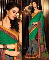 Amazing New Style Printed Designer Saree Womens Casual Sari
