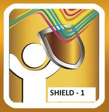Electromagnetic radiation shield for mobile phones Shield-1