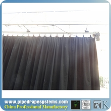 china factory-pd4100 motorized stage curtains with one motor/velvet stage curtain with one/fiber optic lighting stage curtain