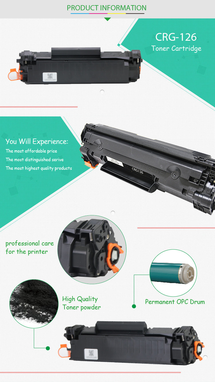 Distributors Wanted The Toner Cartridge CRG 126 326 726 for Canon