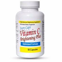 WHOLESALE IVORY CAPS VITAMIN C BRIGHTENING PLUS OPTIMIZED FORMULA CAPSULES