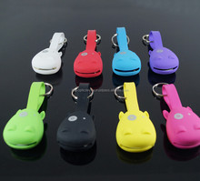 Usb to Micro Hippo Key Ring Multi-Functional Mini 2-IN-1 Data Cable Sync Charge for Most Devices Samsung Android Smart Phone