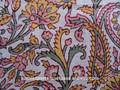 Paislery imprime floral& des impressions de fleurs à la main bloc imprimé tissus de coton k tissus de Coton imprimé TISSUS