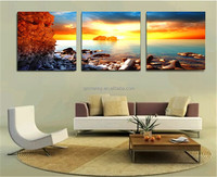 Brand New 3 Pieces Only Canvas Home Decor Art Painting Modern Picture No Frame For Sunshine Future Wall Paintings 50x50cm