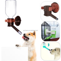 Pet Dog Drinker Cat Dog Drinking Kit Hanging Water Drink Dispenser Fountain Bottle Head Portable Outdoor Copper Head