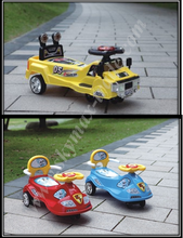 Cheap Kids Ride on Car Toy/Plastic Swing Cars With Music