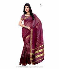 All types of indian sarees / cotton sarees blouse designs
