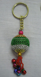 Indian Vintage Design Key Chain With Ringing Bells