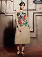 Fancy Designer Party Wear Kurti | Embroide Pashmina Kurti