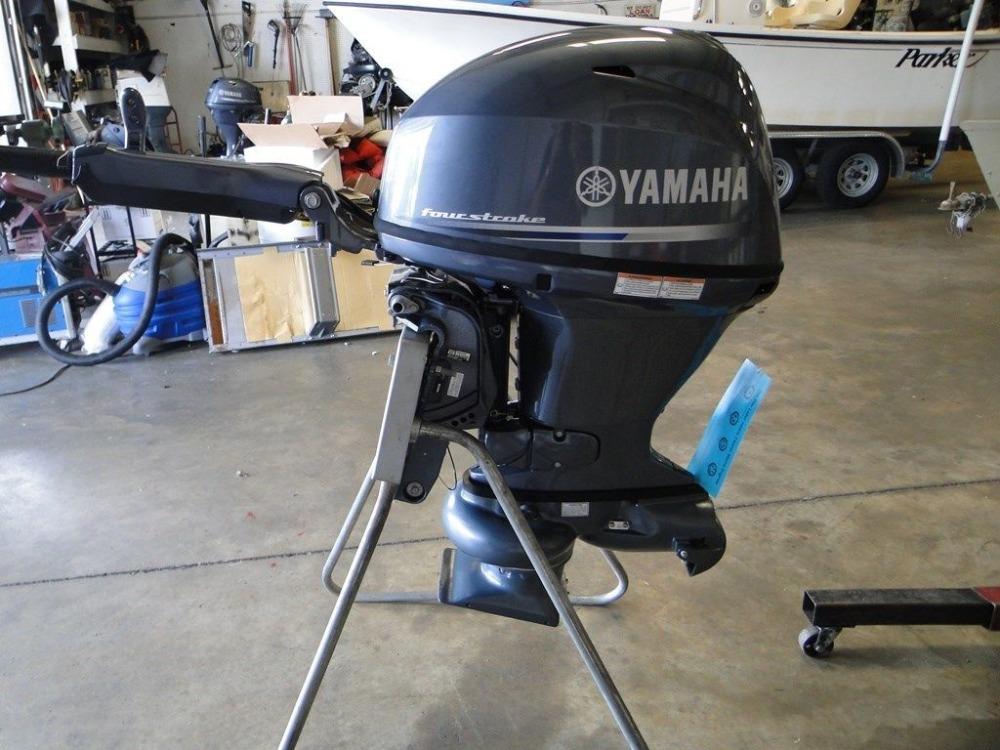 Used Ya Ma Ha 40 Hp Out Board Motor Buy Marine Supplies