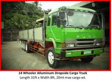 Cargo truck for rent