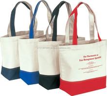 High quality organic cotton make up bag, promotional bags