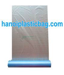 LDPE/ HDPE plastic bags with handles on roll
