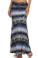 Wholesale Womens Maxi Skirts Print