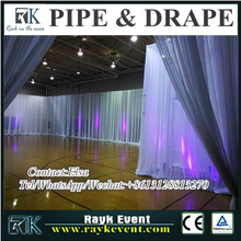 New products portable backdrop pipe and drape trade show inflatable booth for hall decoration