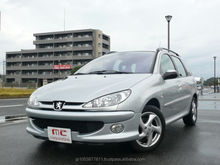 Popular and japanese cars for sale automatic Peugeot SW XS 2003 used car with Good Condition