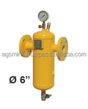 """LPG steel condensate tank 4"""" - 6"""" - LPG reduction stations - MADE IN ITALY"""