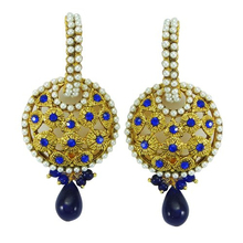 Beautiful Indian Ethnic Bollywood Earrings Traditional Jewelry Gift For Women-BSE5242C