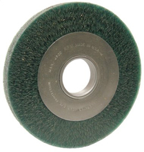 Anderbond Encapsulated Medium Face Crimped Wire Wheels-DA Series-Carbon Steel (Each)