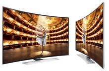 Brand new Samsung UN55HU9000 Curved 55-Inch 4K Ultra HD 120Hz 3D Smart LED HDTV+ HW-F850 Soundbar