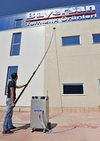 OUTDOOR WATER FED POLE CLEANING SYSTEMS