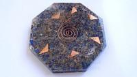 Orgonite Lapis Lazuli Octagon Vastu Plate : Wholesale Ocatagons Shaped Online Orgonite Supplier