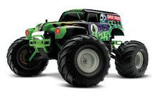 FOR NEW Brand New Traxxas 1 16 Grave Digger 2WD Monster Truck RTR w Backpack