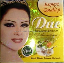 Due beauty Creme for lightening whitening of skin