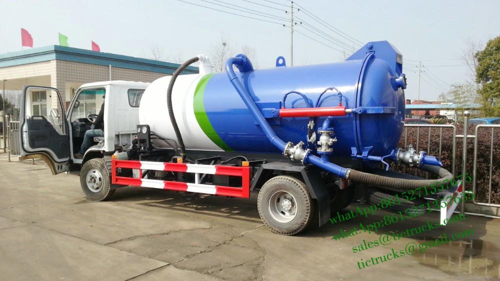 ISUZU  trucks  -007-ISUZU Vacuum tanker truck.jpg