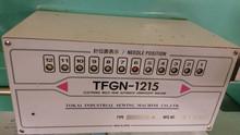 USED TAJIMA TFGN-1215 (680 X 400) 12 HEAD DOUBLE SEQUIN EMBROIDERY MACHINE