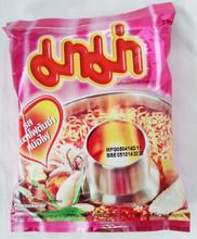 Mama Yentafo Tom Yum Mohfai Flavour. Thai Instant Noodle. Thai Food.