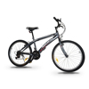 "ASOGO 24"" MTB Bike Mountain Bike 18 Speed Matte Grey"