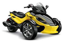 Factory price for 2014 Can Am Spyder Rs S Yellow