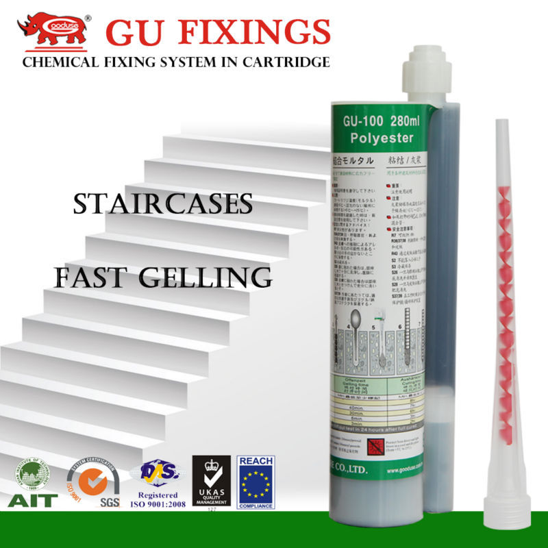 Taiwan fixing system pure epoxy resin of chemical anchors