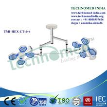 TMI-HEX-CT-4+4 OT led lights operation theatre manufacturers
