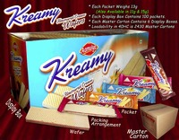 CREAM WAFERS/ KREAMY FLAVOURED CREAM WAFERS /WAFER BISCUITS