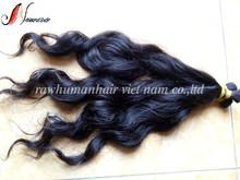wholesale 100% natural wavy human hair