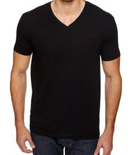 Anti UV & Moisture winking, Fashion V Neck Bamboo t shirt wholesale price