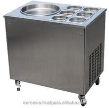 ICE CREAM - ICE CREAM FRYING MACHINE W/ CHIILER BAR 1-BOWL